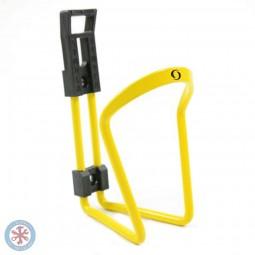 Koszyk bidonu aluminiowy żółty