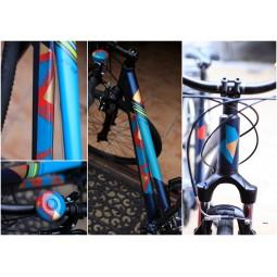 Artystyczne malowanie roweru